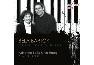 Adrienne Soos, Ivo Haag - Works for Piano Duo - (CD)