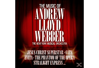 The New York Musical Orchestra - The Music Of Andrew Lloyd Webber [CD]