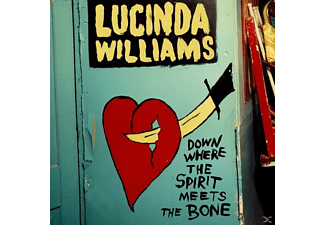 Lucinda Williams Down Where The Spirit Meets The Bone Country CD