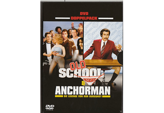 Doppelpack: Der Anchorman & Old School [DVD]