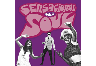 VARIOUS - Sensacional Soul Vol.3 [CD]