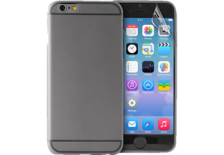 PURO PU-111778 Ultra Slim 0.3 Backcover Apple iPhone 6 Plus Polycarbonat Schwarz