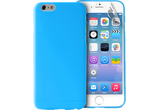 PURO PU-113666 Ultra Slim 0.3, Apple, Backcover, iPhone 6 Plus, Polycarbonat, Blau