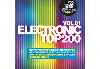 VARIOUS - Electronic Top 200 Vol.1 - (CD)