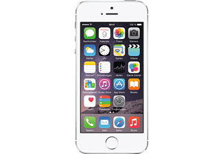 APPLE iPhone 5s, Smartphone, 16 GB, 4 Zoll, Silber, 3G Unterstützung, LTE