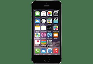 APPLE iPhone 5s, Smartphone, 16 GB, 4 Zoll, Spacegrau, 3G Unterstützung, LTE