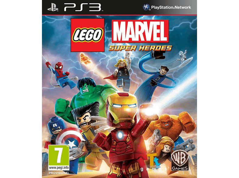 LEGO Marvel Super Heroes PlayStation 3 gaming   offline sony ps3 παιχνίδια ps3 gaming games ps3 games