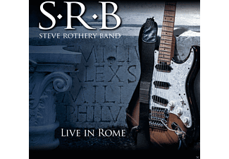 Steve Rothery Band - Live In Rome - (CD)