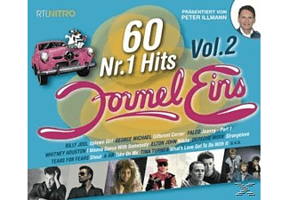 Various - Formel Eins 60 Nr.1 Hits - Vol.2 - (CD)