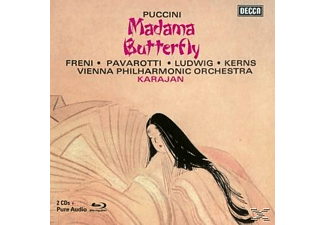 Mirella Freni, Luciano Pavarotti, Christa Ludwig, Robert Kerns, Wiener Philharmoniker - Madama Butterfly  (Ltd.Deluxe Edt.) [CD + Blu-ray Disc]