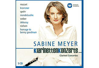 Meyer Sabine - Klarinettenkonzerte [CD]