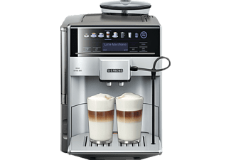 siemens kaffeevollautomat te 603501 de silber kaffeevollautomat kaufen bei saturn. Black Bedroom Furniture Sets. Home Design Ideas