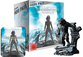 Underworld 1-4 (Ultimate Hero Pack inklusive 23 cm Figur) - (Blu-ray)