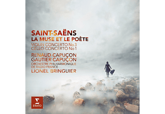 Renaud Capucon, Gautier Capucon, Orchestre Philharmonique De Radio France - La Muse Et Le Poete - (CD)