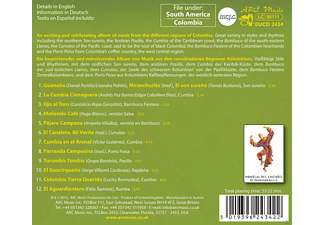 Son De Pueblo - Traditional Songs And Dances From Colombia [CD]