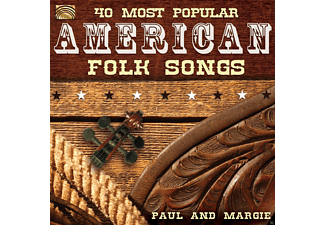 Paul & Margie - 40 Most Polular American Folk Songs [CD]