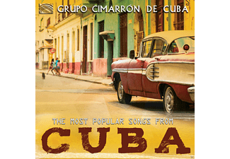 Grupo Cimarrón De Cuba - The Most Popular Songs From Cuba [CD]