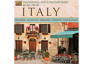 VARIOUS - Traditional & Contemporary Music From Italy [CD]