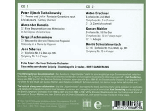 Kurt Sanderling - Kapellmeister-Edition 2-Kurt Sanderling - (CD)