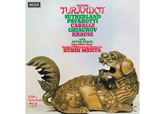 Joan Sutherland, Luciano Pavarotti, Nicolai Ghiaurov, Montserrat Caballé, Tom Krause, Peter Pears, London Philharmonic Orchestra - Turandot (Ltd.Deluxe Edt.) - (CD + Blu-ray Disc)