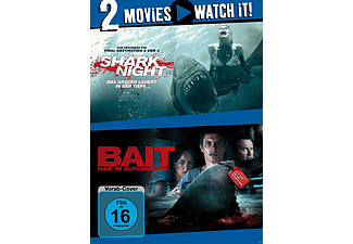 Shark Night / Bait - Haie im Supermarkt [DVD]