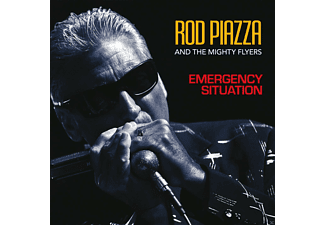Rod Piazza, Mighty Flyers - Emergency Situation - (CD)