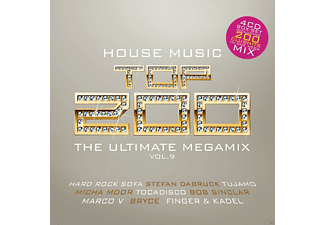 VARIOUS - Top 200 House Music Vol. 9 - The Ultimate Megamix - (CD)