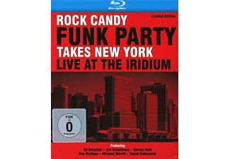 Rock Candy Funk Party, VARIOUS - Live At The Iridium (Limited Edition) [CD + Blu-ray Disc]