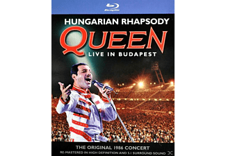 Queen - HUNGARIAN RHAPSODY - LIVE IN BUDAPEST (+2CD) [CD + Blu-ray Disc]