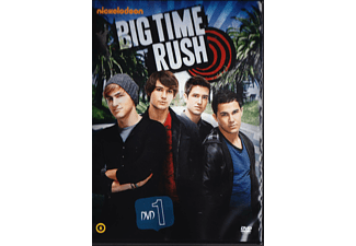 Big Time Rush - 1. évad, 1. lemez (DVD)