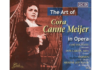 Cora Canne Meijer - The Art Of C.Canne Meijer In Opera - (CD)