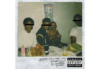 Kendrick Lamar - Good Kid, M.A.A.D City (CD)