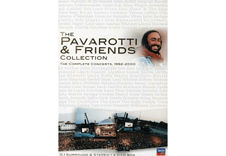 Luciano Pavarotti, VARIOUS - Pavarotti & Friends Collection 1992-2000 - (DVD)