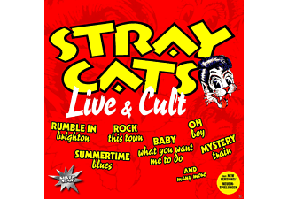 Stray Cats - Live & Cult - (CD)