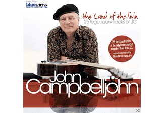 John Campbelljohn - The Land Of The Livin - 25 Legendary Tracks Of Jc - (CD)