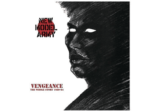 New Model Army - Vengeance - The Whole Story 1980-84 - (LP + Bonus-CD)