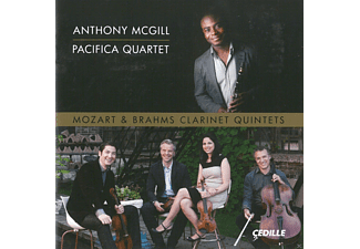 Anthony McGill, Pacifica Quartet - Klarinettenquintette - (CD)