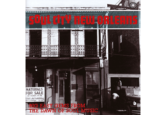 VARIOUS - Soul City New Orleans - (CD)