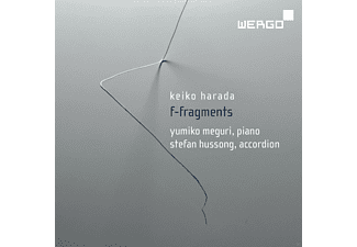 Stefan Hussong, Yumiko Meguri - F - Fragments - Works For Accordion And Piano - (CD)