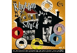 VARIOUS - Rhythm Shack Vol.2 - (Vinyl)