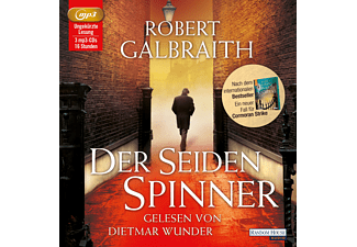 Der Seidenspinner - 3 MP3-CD - Krimi/Thriller