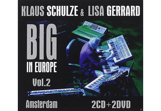 Klaus Schulze, Lisa Gerrard - Big in Europe Vol.2 - Amsterdam (CD + DVD)