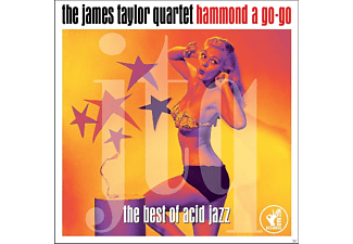James Quartet Taylor - Hammond A Go-Go - (CD)
