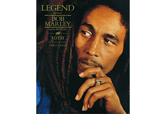 Bob Marley - Legend (LTD 30th Anniversary Edt, CD+Bluray Audio) - (CD)
