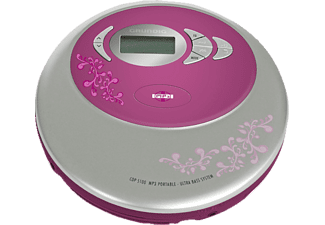 grundig cdp5100 pink cd player discmans mediamarkt. Black Bedroom Furniture Sets. Home Design Ideas