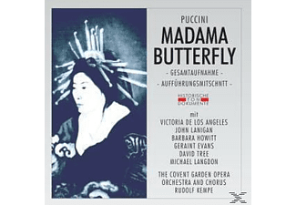 The Covent Garden Opera Orch.& Chorus - Madama Butterfly - (CD)