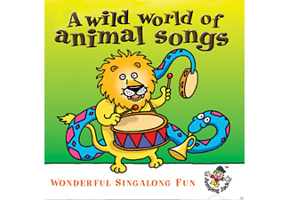The Jamborees - A Wild World Of Animal Songs… Wonderful Sing Along Fun - (CD)