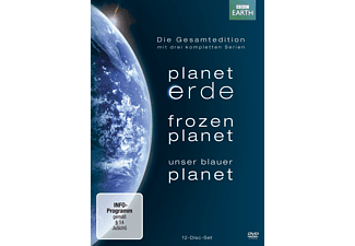Planet Erde / Frozen Planet / Unser Blauer Planet [DVD]