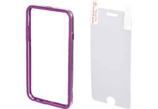 HAMA Cover Edge Protector, Bumper, Apple, iPhone 6 Plus, iPhone 6s Plus, Kunststoff, Lila