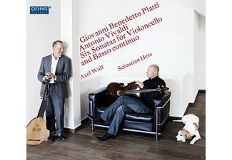 Sebastian Hess, Axel Wolf - Six Sonatas for Violoncello and Basso Contuinuo - (CD)